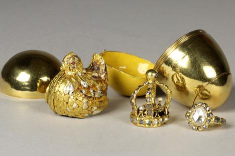 Augusts Gold-Spielzeug kehrt in Grünes Gewölbe zurück