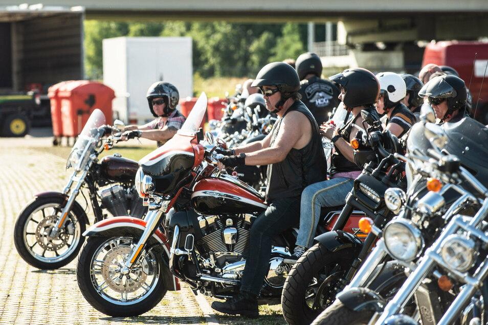 Das will gefeiert sein und soll im nächsten Jahr wieder stattfinden: die Harley Days Dresden im Ostragehege.