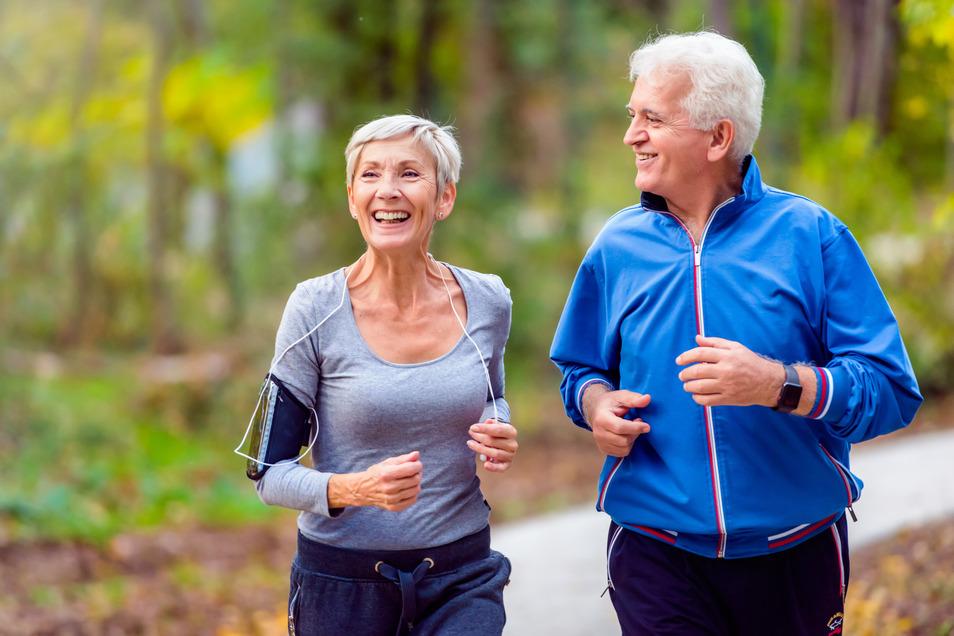Egal in welchem Alter: Bewegung fördert Stoffwechsel und Herz-Kreislauf-System.