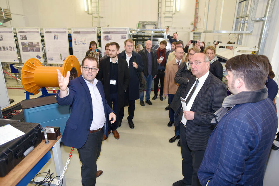 Erst im April 2019 besuchte eine EU-Delegation das Kraftwerkslabor der Hochschule Zittau/Görlitz.