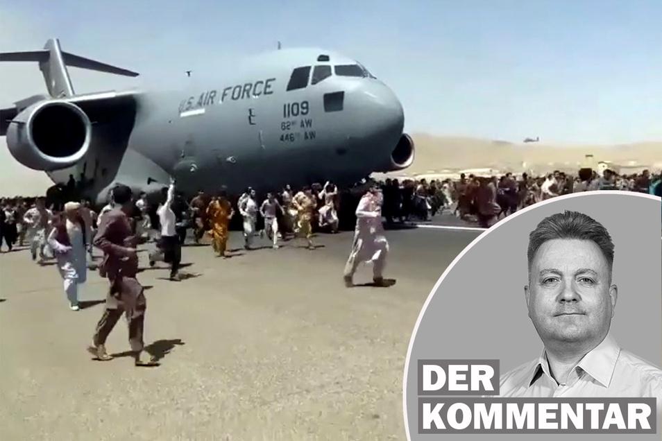 Nach der Machtübernahme der Taliban in Afghanistan haben Deutschland und andere westliche Staaten begonnen, in großer Eile ihre Staatsbürger und gefährdete afghanische Ortskräfte auszufliegen.