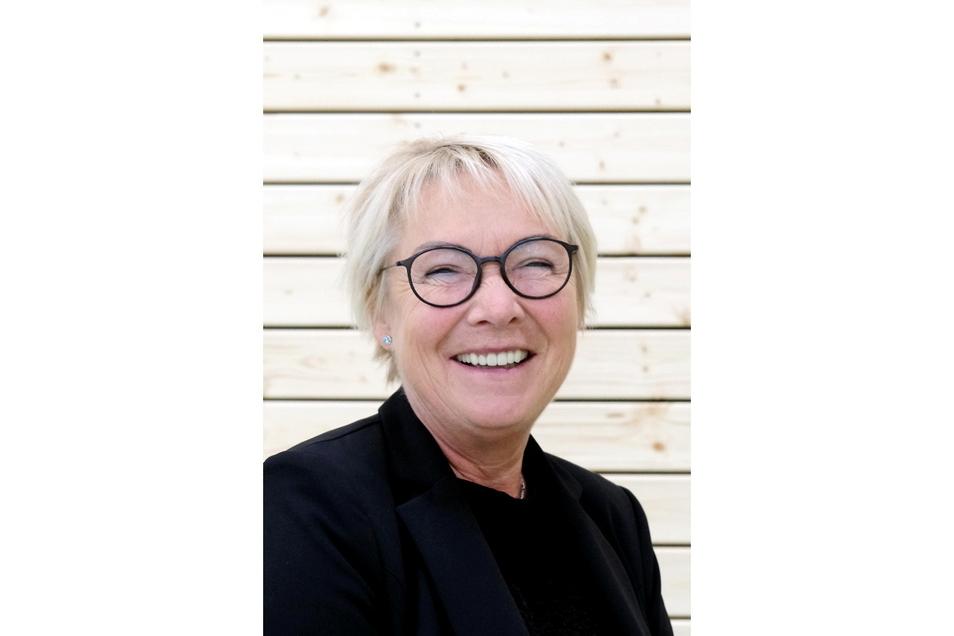 """""""Eine spothalle mit Pfiff ist entstanden"""". Architektin Kerstin Grahl ist stolz auf das Projekt."""