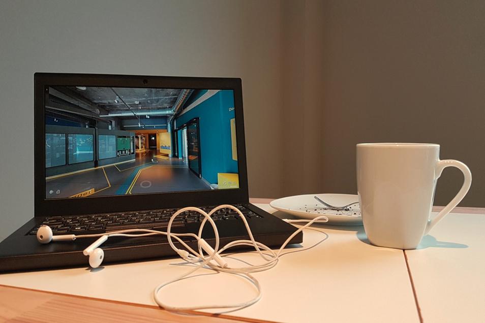 Virtueller Besuch des ZCOM in den eigenen vier Wänden – in einer Woche gibt es eine virtuelle Führung.