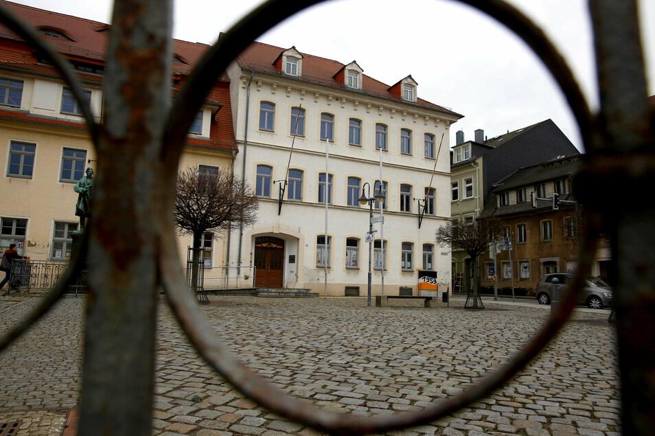 In diesem Monat sollen die Arbeiten zur Sanierung des Pulsnitzer Rathauses starten.