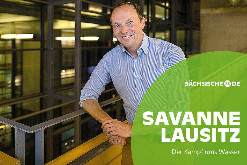 Sachsens Umweltminister Wolfram Günther (Bündnis 90/Die Grünen) arbeitet an einer neuen Wasserstrategie für den Freistaat.