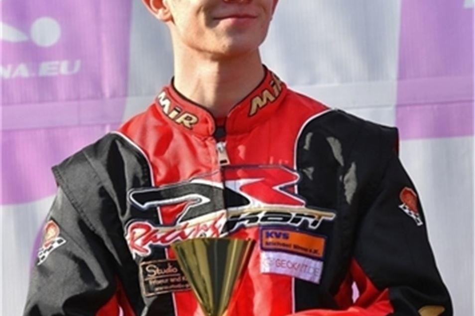 In Cheb belegte Jonas 2017 Platz 2 bei der ADAC-Meisterschaft.