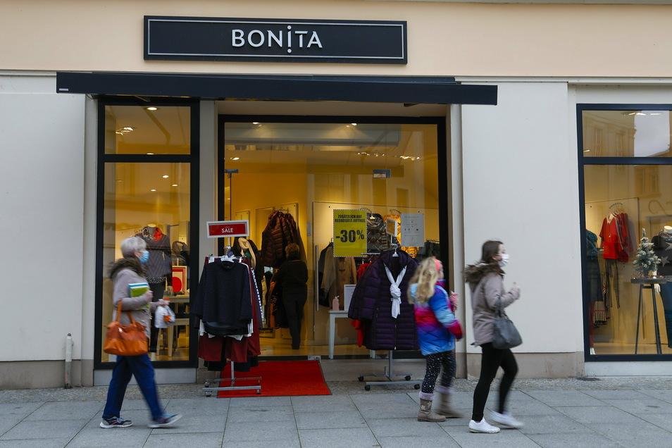 Auch am Zittauer Markt betreibt Bonita eine Filiale - wie lange noch?