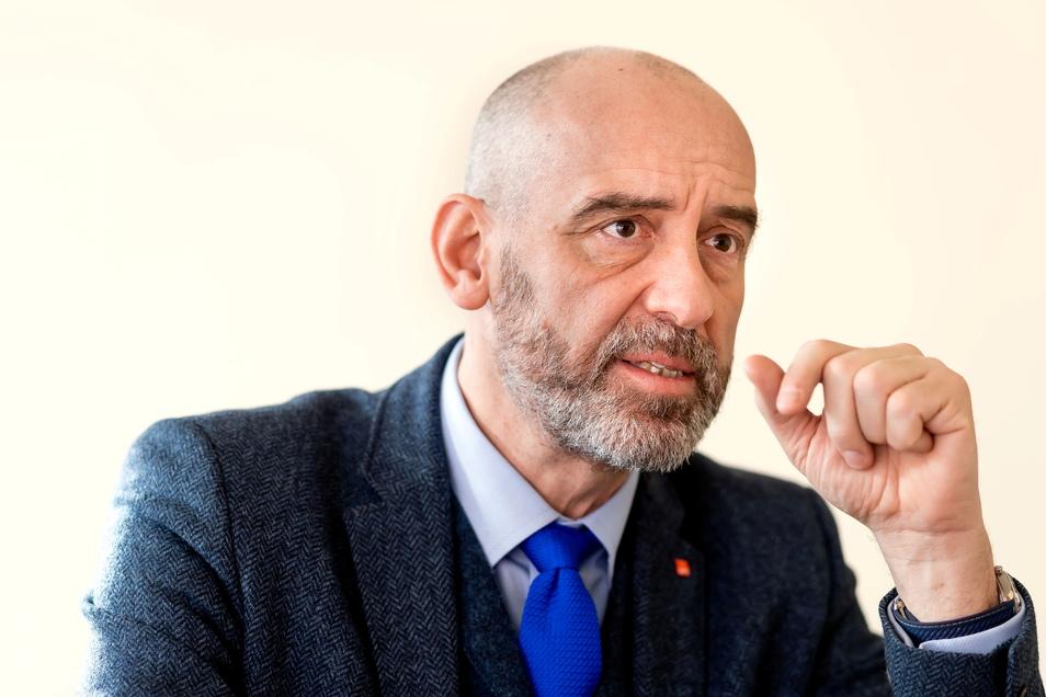 Alexander Ahrens (SPD) ist Oberbürgermeister der Stadt Bautzen.