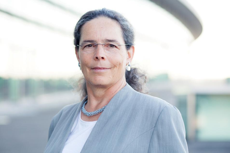 Judith Brombacher von der Bürgerinitiative Wohnen am Leipziger Bahnhof findet, das ist ein interessantes Wohnquartier.