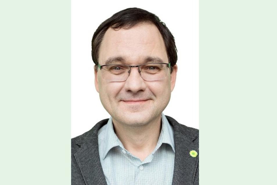 Jens Bitzka tritt für die Partei Bündnis 90/Grüne an. Der Strukturwandel in der Lausitz ist ihm wichtig.
