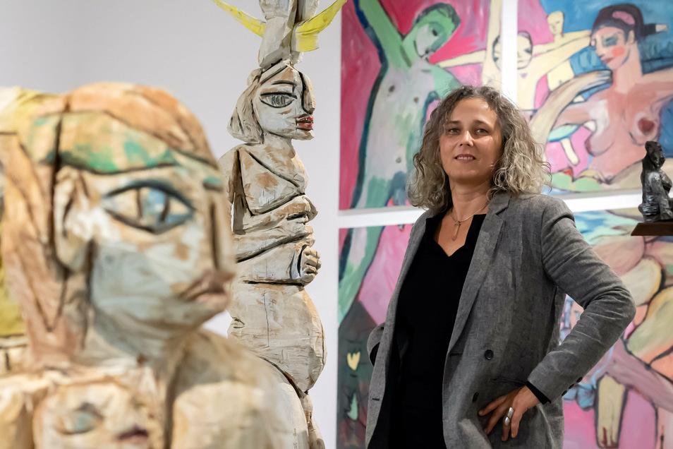 Bildhauerin Barbara Wiesner zeigt ihre Werke in Bautzen in einer neuen Ausstellung.