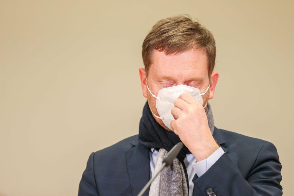 """""""Osterurlaub in Deutschland kann es dieses Jahr leider nicht geben"""", sagt Sachsens Ministerpräsident Michael Kretschmer (CDU). Denn eine Rückkehr zur """"Normalität"""" wie im vergangenen Herbst würde zu einer """"Explosion der Infektionszahlen"""" wi"""