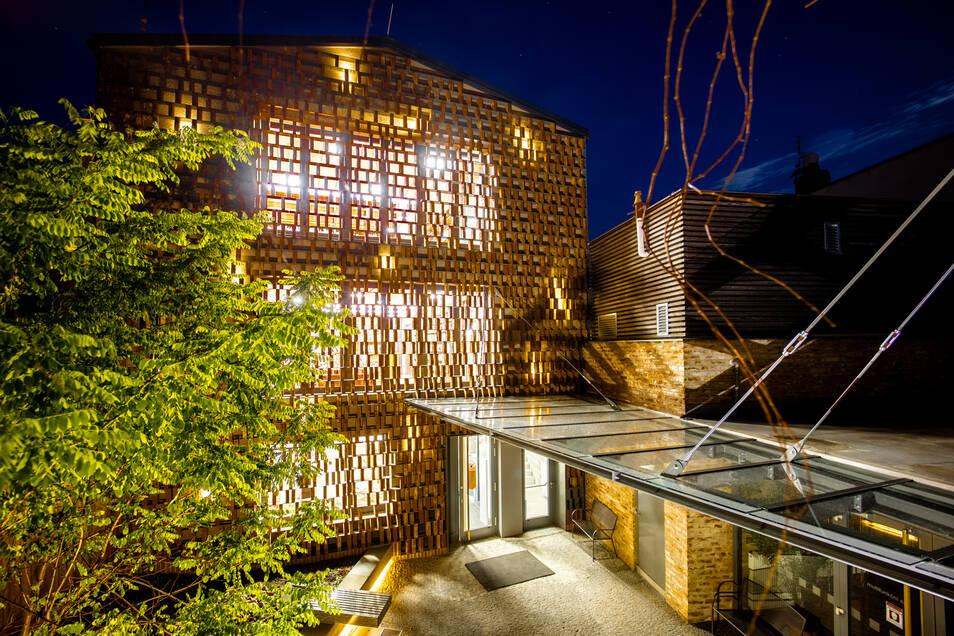Die neue Bibliothek in Hradek.