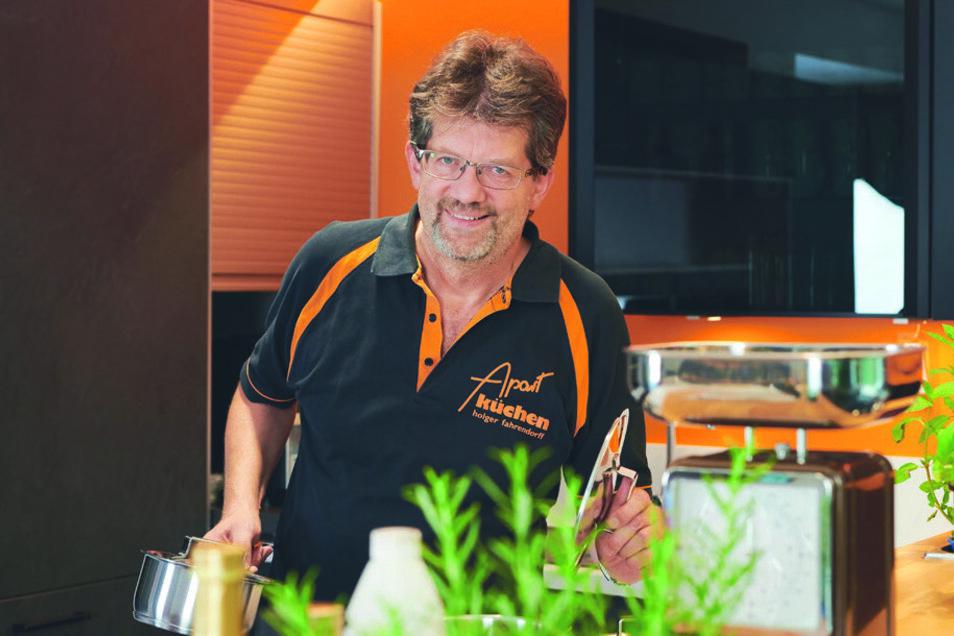 Holger Fahrendorff ist der Geschäftsführer von Apart Küchen