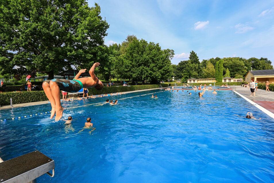 Trotz Corona war das Erlebnisbad Reichenbach auch in diesem Jahr ein beliebter Ausflugsort.