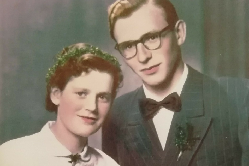 1956 gaben sich Erika und Wolfgang Engel das Ja-Wort.
