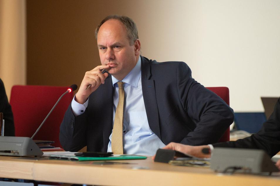 Hat bereits einen Plan: Dresdens Oberbürgermeister Dirk Hilbert