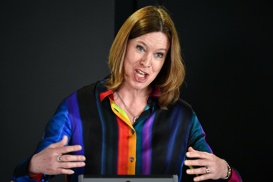 Schottlands Ex-Chief Medical Officer, Catherine Calderwood.