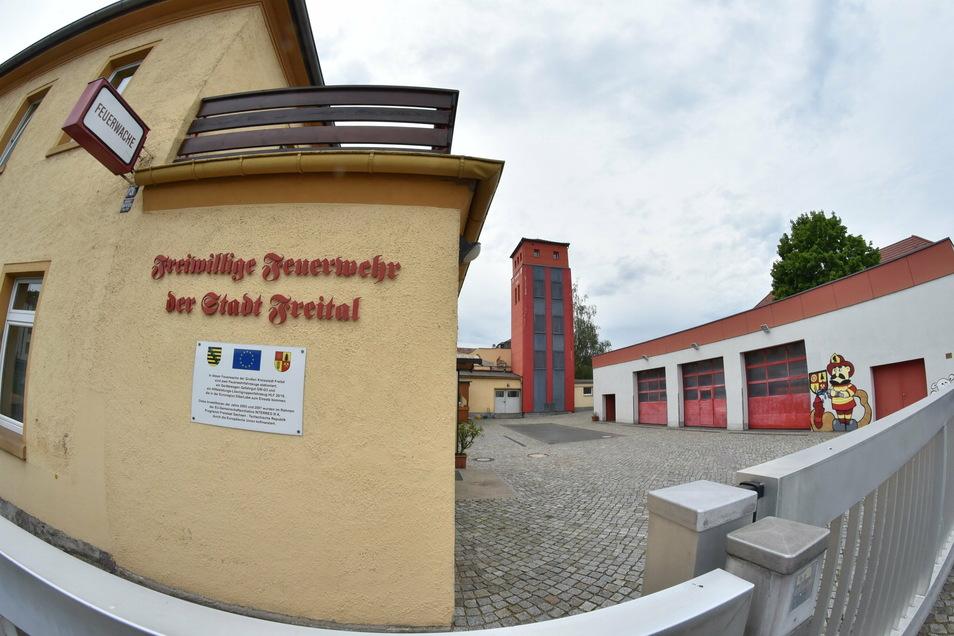 Die Freitaler Feuerwehr ist in über 100 Jahre alten Gebäuden untergebracht. Es ist Zeit für etwas Neues.