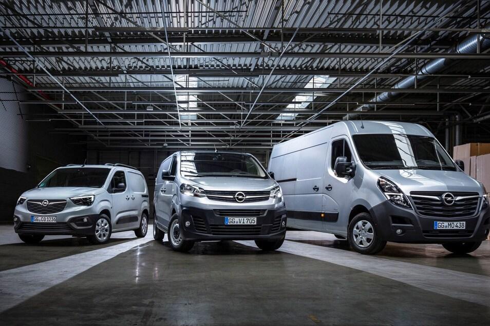 Für jeden Gewerbetreibenden hat Opel das passende Nutzfahrzeug parat.