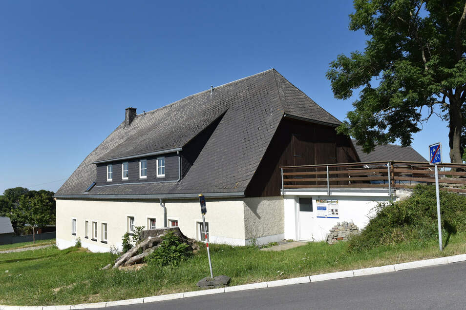 Die alte Schäferei in Sadisdorf ist ein möglicher Standort für einen neuen Mobilfunkmast in Dippoldiswalde.