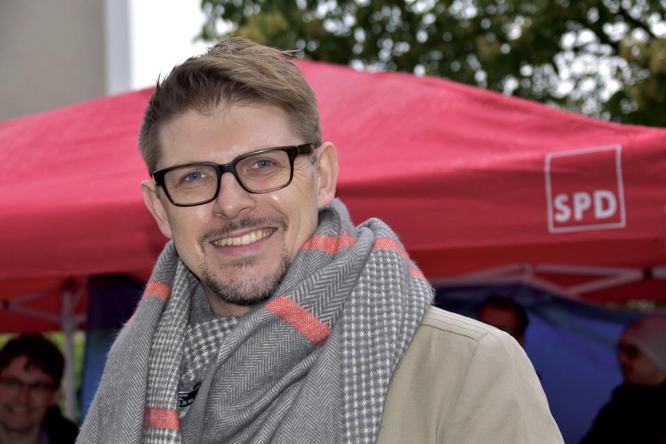 Matthias Ecke will für die SPD Dresden ins Europaparlament