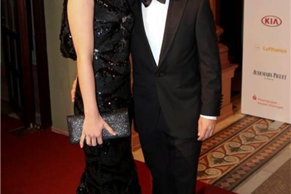 Timo Glock und Isabell Reis sind seit 2008 ein Paar und seit 2013 Eltern.