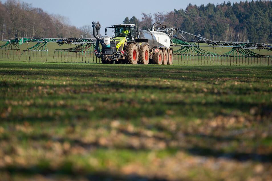 Die Landwirtschaft ist ein Hauptproduzent von Treibhausgasen – auch in Sachsen.
