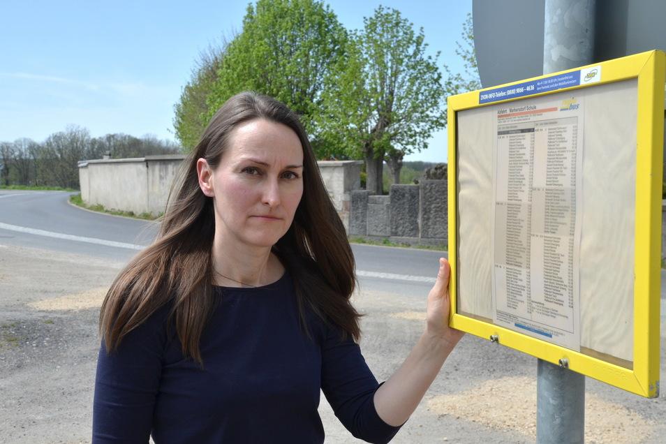 Dorit Matuschek ist Elternsprecherin der Markersdorfer Grundschule. Sie hat die Petition in Absprache mit den Eltern gestartet.