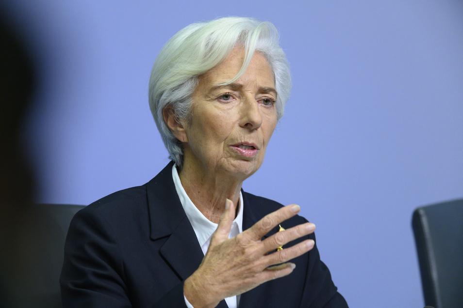 Christine Lagarde, Präsidentin der Europäischen Zentralbank (EZB).