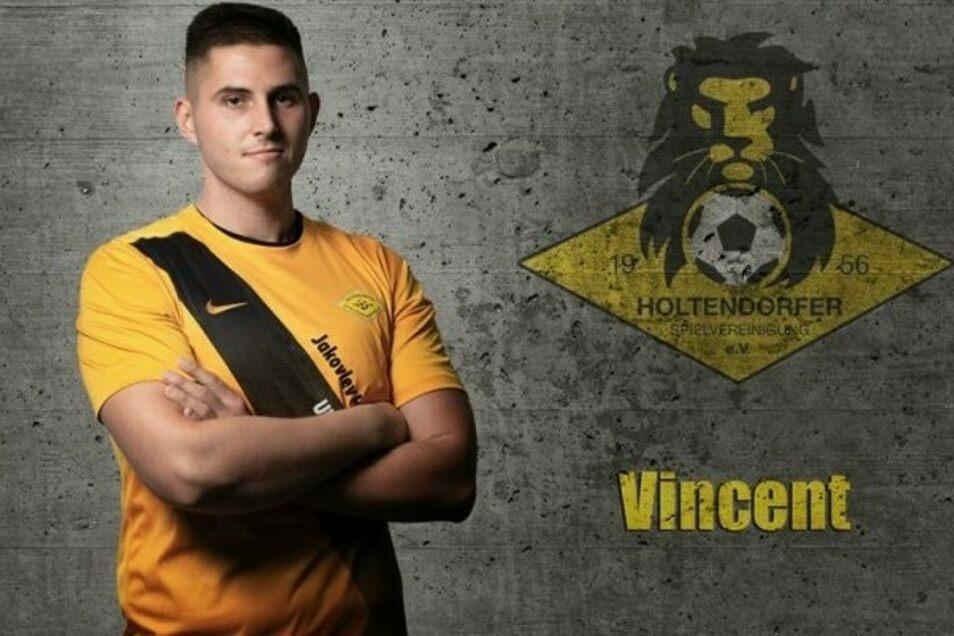 Vincent ist Amateurfußballer beim Holtendorfer Sportverein. Jetzt kämpft er aber nicht um Tore und Punkte, sondern um sein Leben. Der 27-Jährige hat Leukämie.