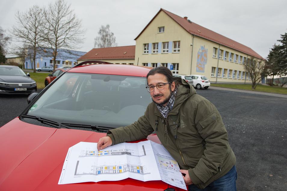 Die Planungen sind schon lange im Gange: Bereits Anfang des Jahres beschäftigte sich Bürgermeister Dirk Mocker mit dem Kindercampus an der Ponickauer Friedrich-Ludwig Jahn-Grundschule.