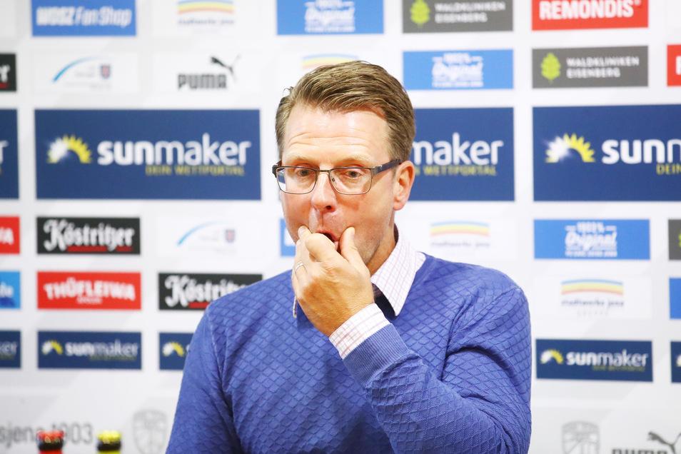 Rico Schmitt ist nicht mehr Trainer des Fußball-Drittligisten FC Carl Zeiss Jena.