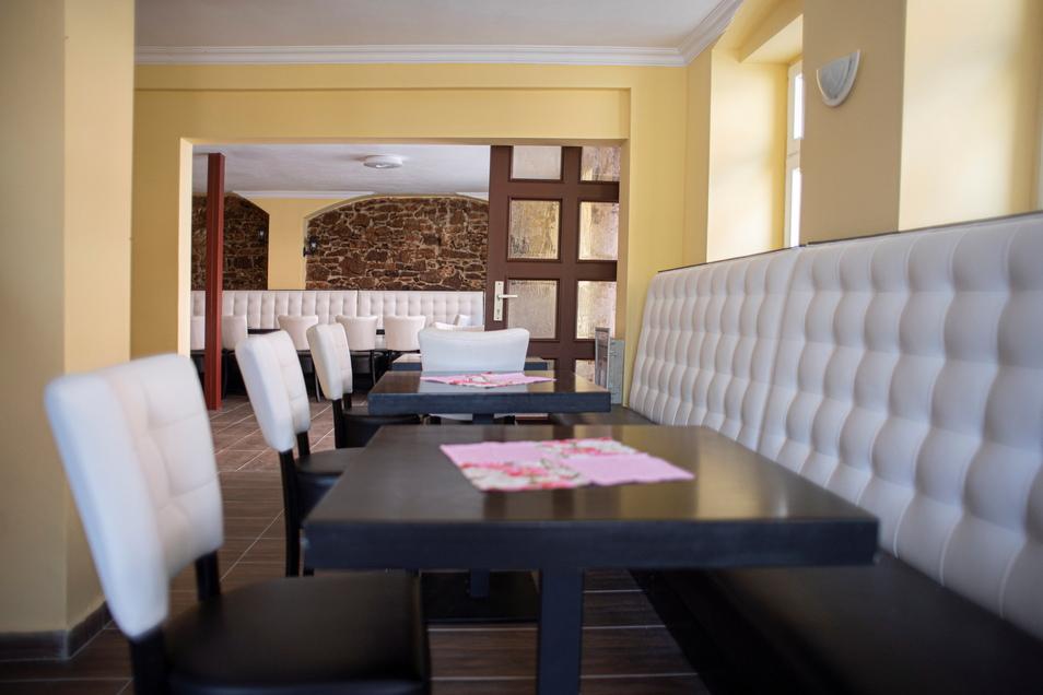 So sieht der Gastraum des Istanbul-Grill jetzt aus.