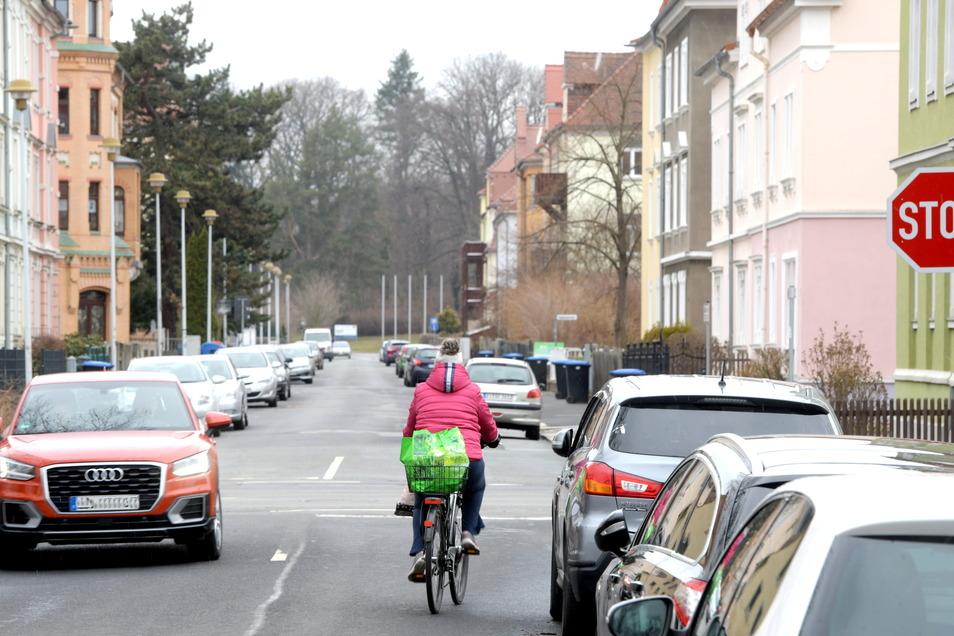 Durch die Weststraße in Zittau soll die B96-Umleitung führen.