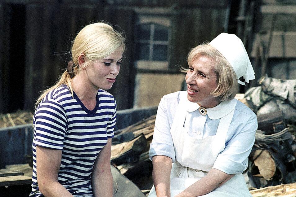 """In den 1970-er Jahren wurden Szenen für """"Schwester Agnes"""" auch in Waltersdorf gedreht."""