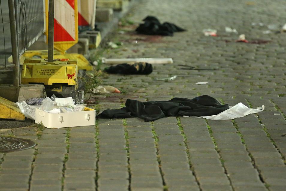 Die Polizei fand zahlreiche Spuren.