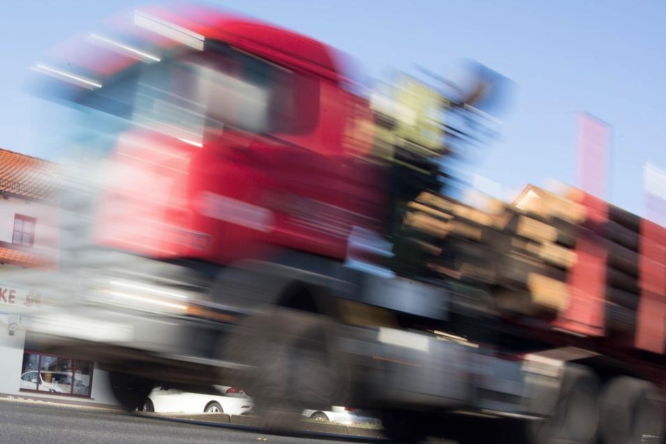Lkws verursachen in Dipps kaum noch Lärm, dank Umgehungsstraße und Autobahn.