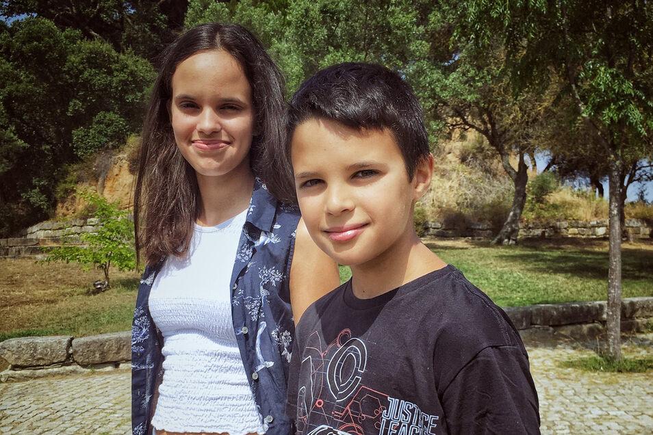 Zwei der sechs Kläger: Sofia und Andre legen sich mit 33 Staaten an.