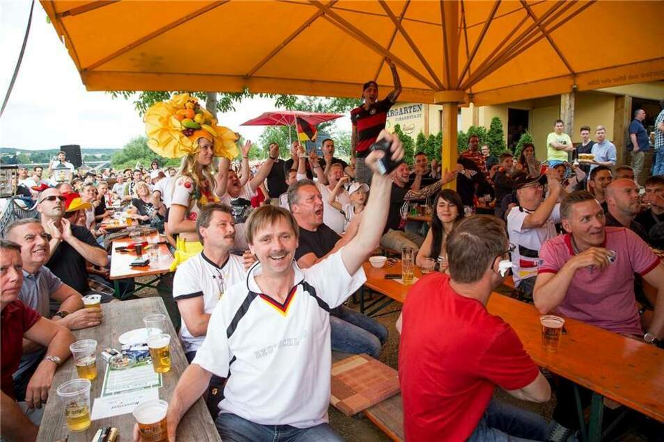 ... und Dresden freut sich bereits auf das nächste Spiel am Sonnabend.