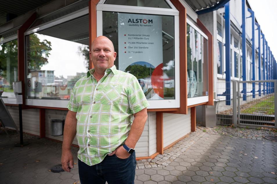 René Straube ist seit Anfang September der neue Gesamtbetriebsratsvorsitzende von Alstom Deutschland.