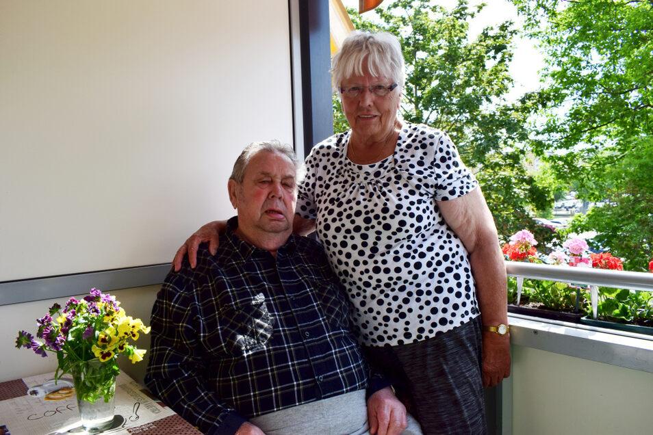 Am heutigen Tag begehen Edeltraud und Gerd Scharf ihre Eiserne Hochzeit. Sie sind seit 65 Jahren verheiratet.