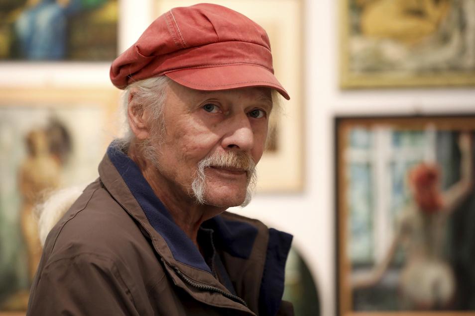 Martin Kreide im Heimatmuseum.