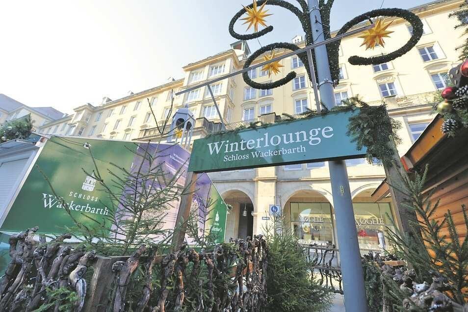 Schloß Wackerbarth hofft, im Dezember auf dem Striezelmarkt Glühwein ausschenken zu können.