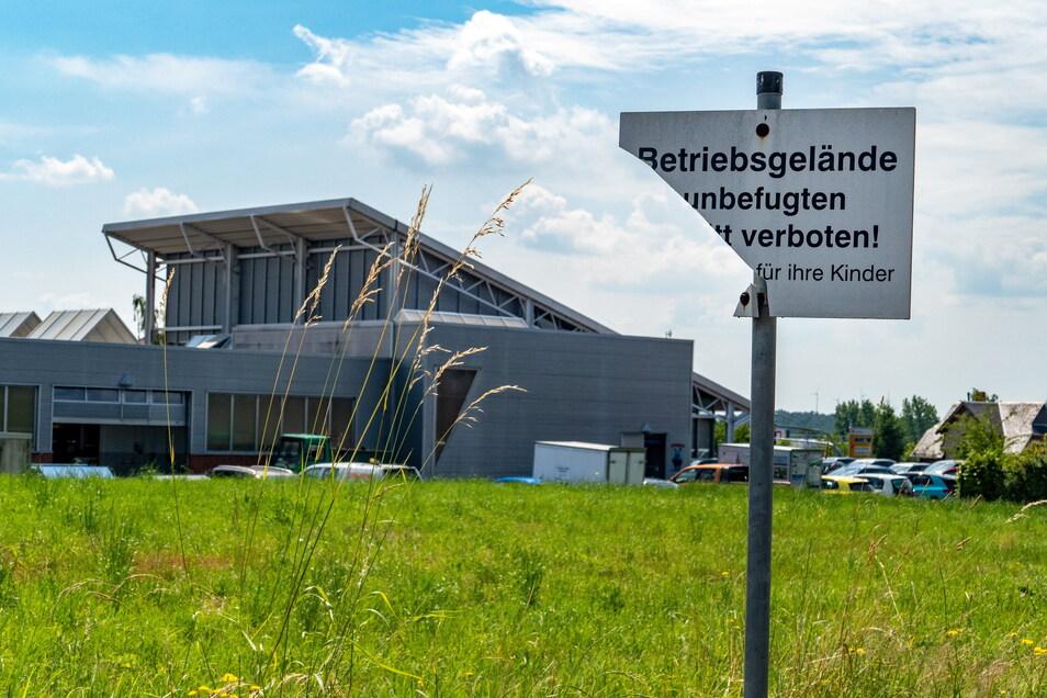 Auf zwei Grundstücken neben dem Autohaus Dittmar Mäke in Waldheim gibt es Pläne für eine Erweiterung des Autohauses.