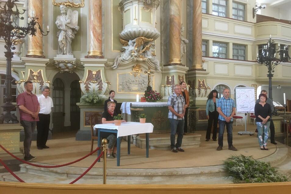 Im Juni 2020 war in der Marienkirche die Vereinigung der Kirchgemeinden beschlossen worden.