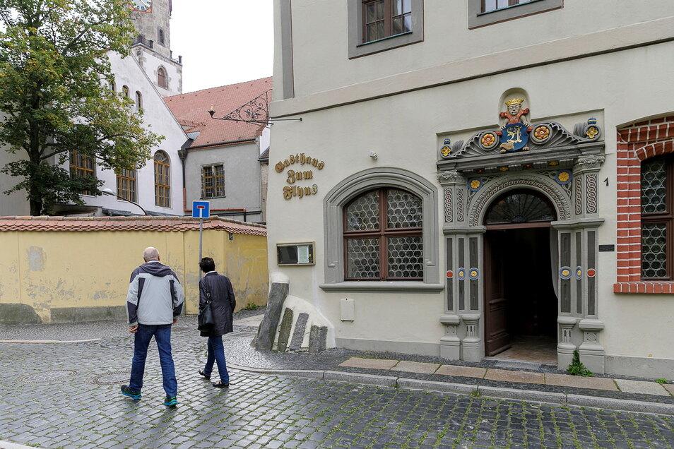 """Das """"Gasthaus Zum Flyns"""" in der Görlitzer Altstadt war sehr beliebt. Künftig wird es darin ein Café geben."""