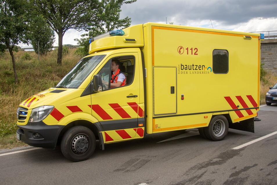 Nach dem Abbiegen von der Zwinger- in die Pulsnitzer Straße ist am Sonnabendmittag ein 73-Jähriger in Kamenz verstorben.