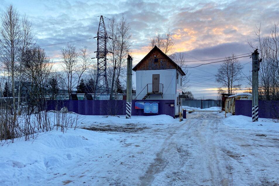 Außenaufnahme auf die Gefangenenkolonie IK-2, die sich unter den russischen Strafvollzugsanstalten durch ein besonders strenges Regime auszeichnet, 85 Kilometer östlich von Moskau.
