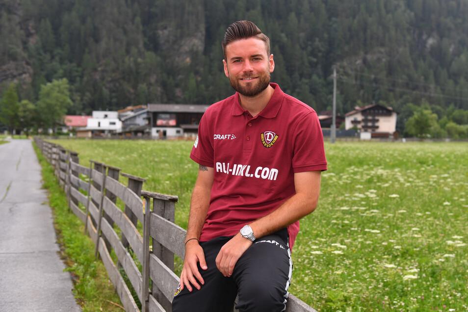 Niklas Kreuzer ist seit gut fünf Jahren bei Dynamo – und jetzt einer von vier Kapitänen.